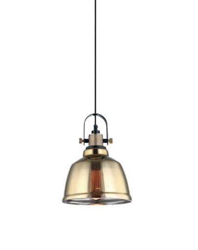 lampara retro cristal