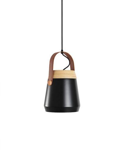 lampara nordica negra