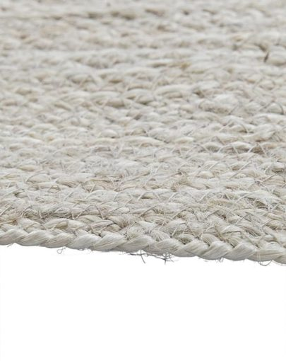 alfombra clara yute