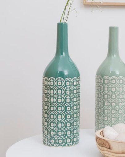 fotografía estancia jarron decorativo de porcelana MARINTE-1
