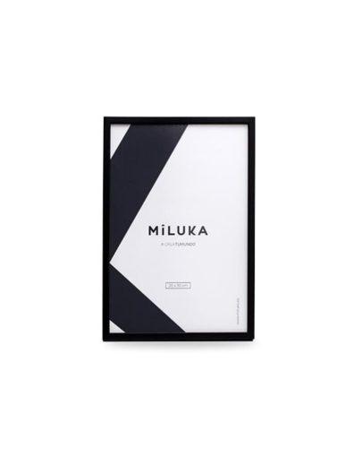 Marco negro 20x30 de Miluka