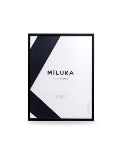 Marco negro 30x40 de Miluka