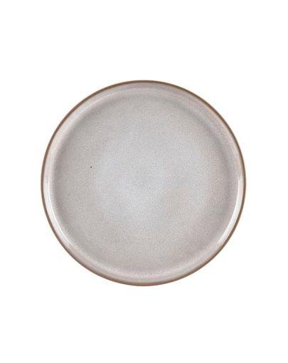 Plato Llano Dust, uno de los platos modernos de Miluka. Vista cenital