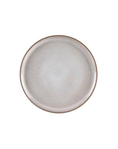 PLato de postre Dust, uno de los platos modernos de Miluka visto desde perspectiva cenital